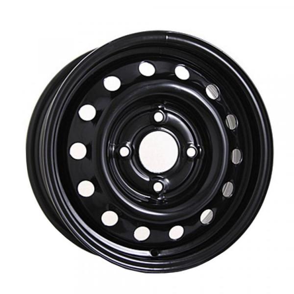 Диск Mefro 6*15 4*108 d63.3 ET47.5 чёрный Ford Fiesta FO515019B